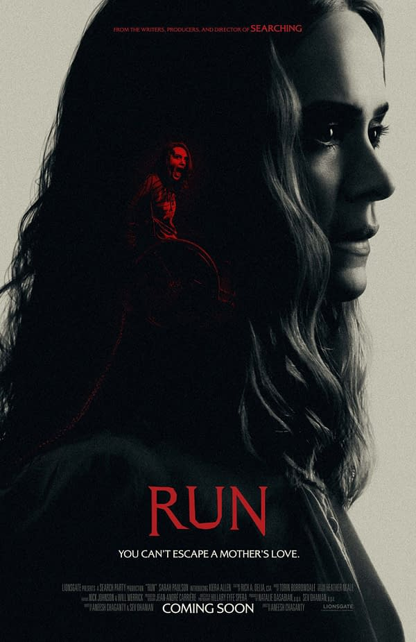 Run Starring Sarah Paulson Comes to Hulu This November