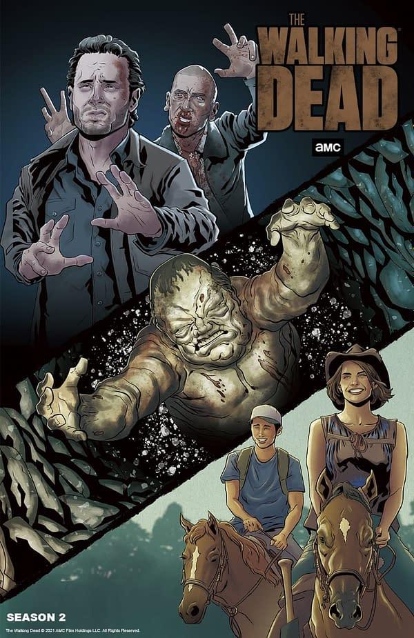The Walking Dead Season 11 E01/E02 Overviews; Artwork Honors Season 2
