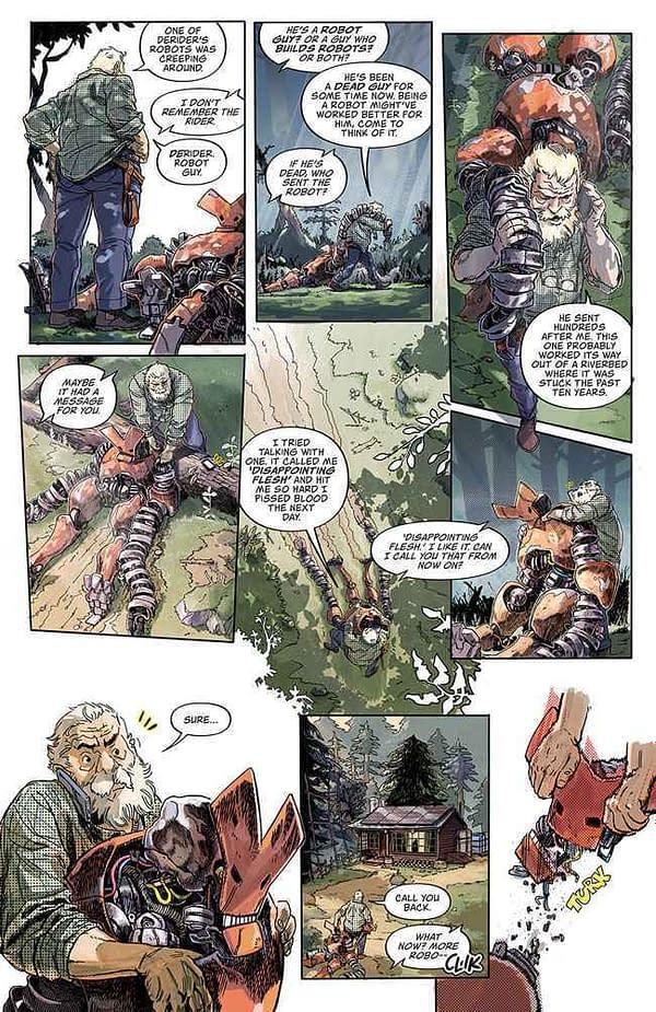 Patrick Kindlon, Marco Ferrari Launch Frontiersman at Image Comics