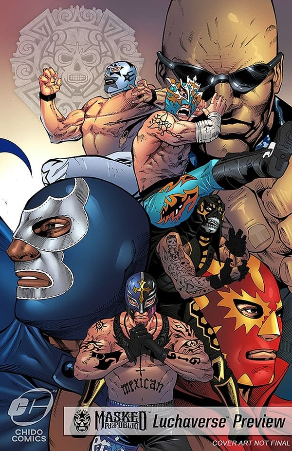 "A Shared Comics ""Luchaverse"" is Coming Featuring Rey Mysterio, Konnan, Pentagon Jr., Rey Fenix and More"