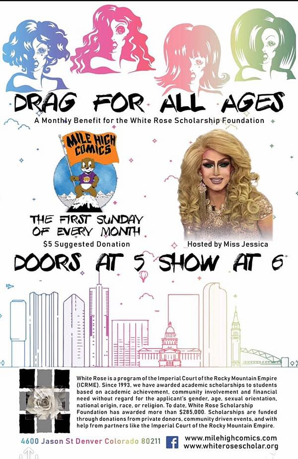 Mile High Comics Launches All-Ages Drag Shows, the First Sunday of Every Month