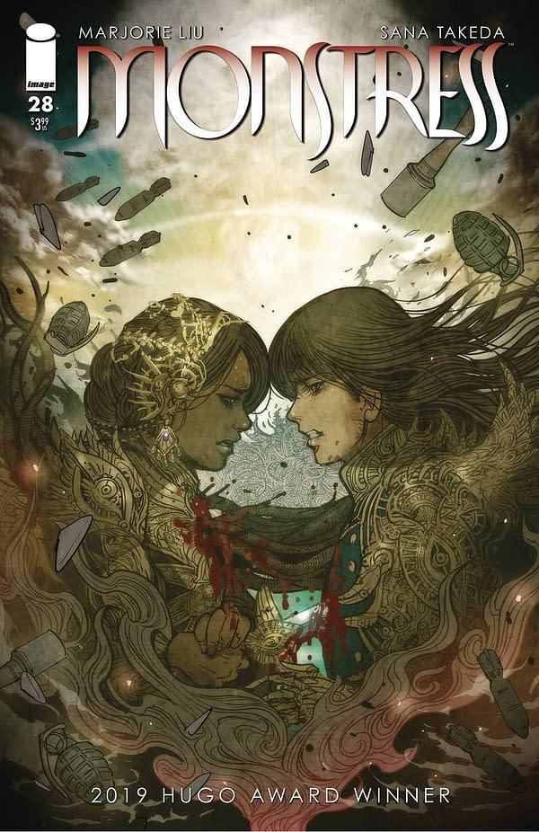 Monstress #28 Cover