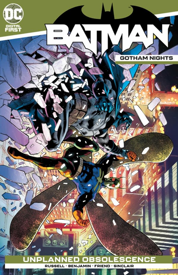 """Batman: Gotham Nights #7 Review: """"At Best Icky"""""""