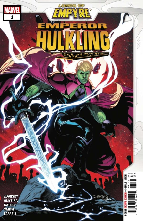 Lords Of Empyre Emperor Hulking #1 Review: A Moment To Truly Shine