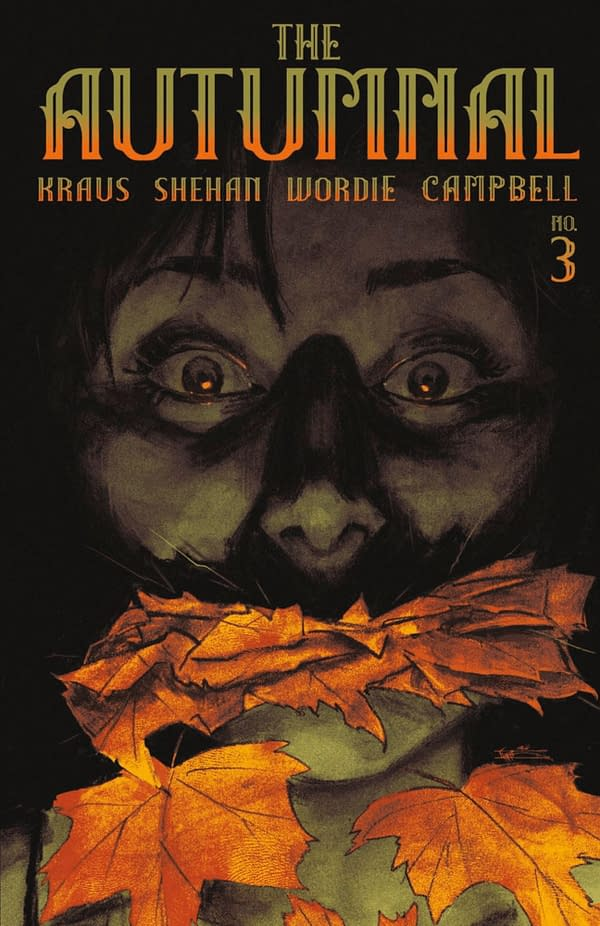 The Autumnal #3 cover. Credit: Vault Comics