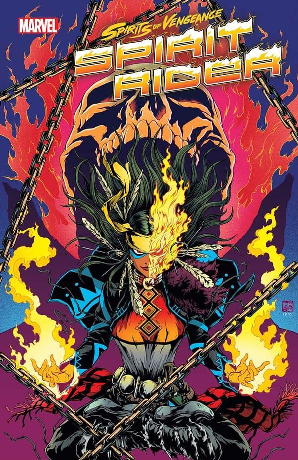 Spirits of Vengeance Spirit Rider#1 Will Bring Kushala & Blaze Back