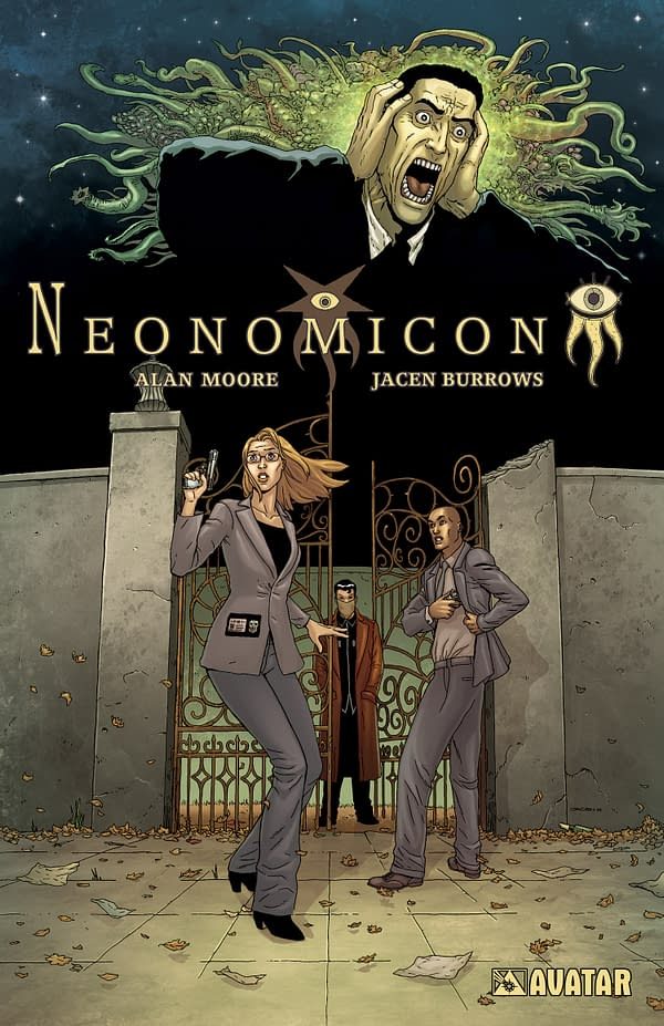 Alan Moore's Neonomicon To Be Collected With The Courtyard In September