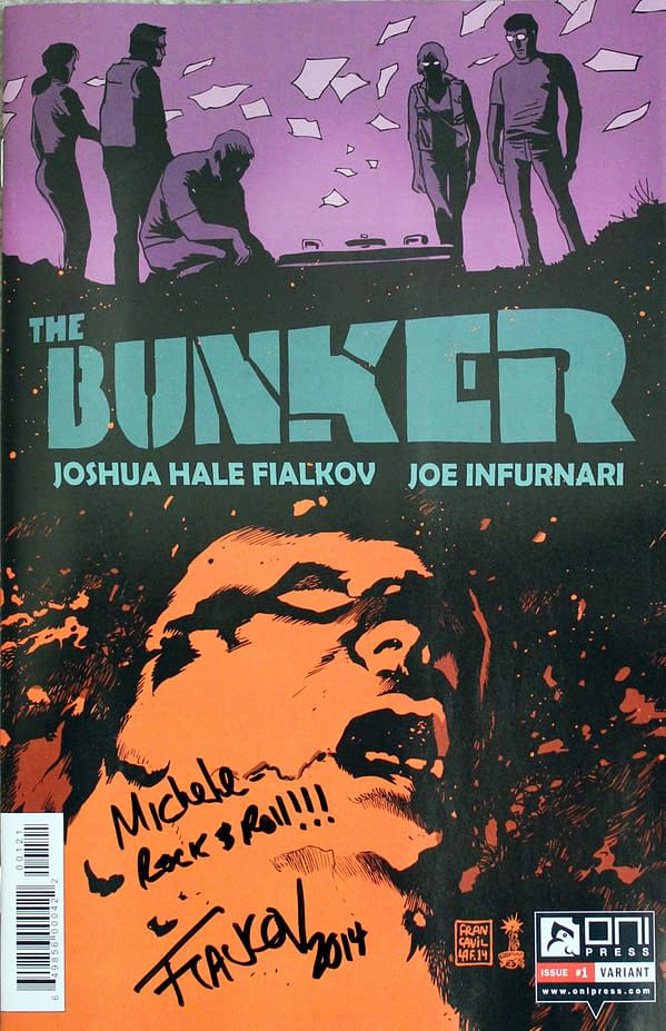 The Bunker w Francavilla Cover