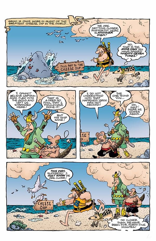 Exclusive Advance Preview Of Groo: Play Of The Gods #3