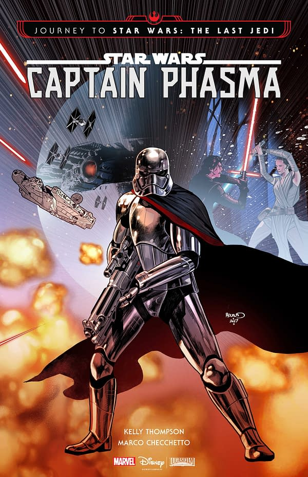 Captain Phasma #1 cover by Paul Renaud