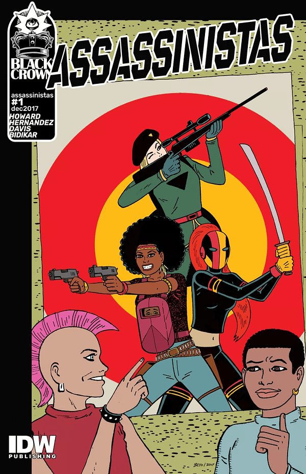 IDW December 2017 Solicits Put A Love And Rocket Up Your Assassinistas