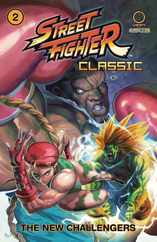 Relive the Classic Comic Stories of Street Fighter: Udon Entertainment May 2018 Solicits