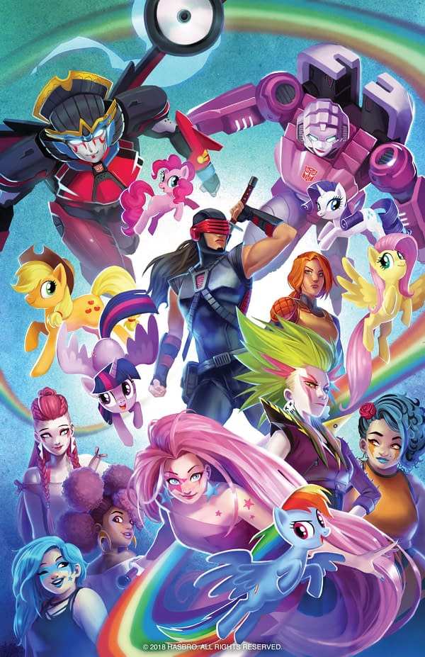 To Create Synergy with Women's History Month, IDW Plans Hasbro Anthology