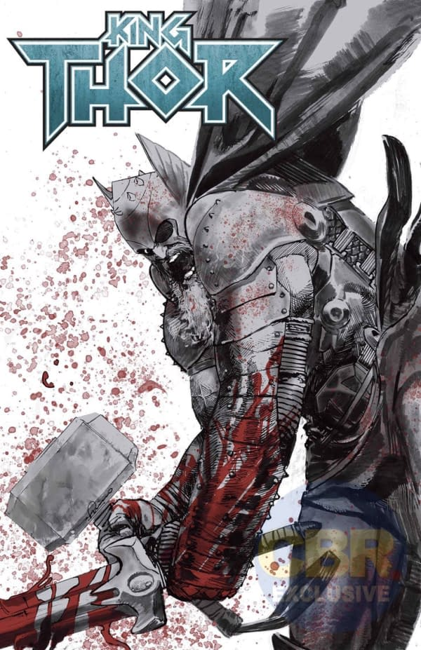 King Thor: A New Thor #1 from Jason Aaron and Esad Ribic in September
