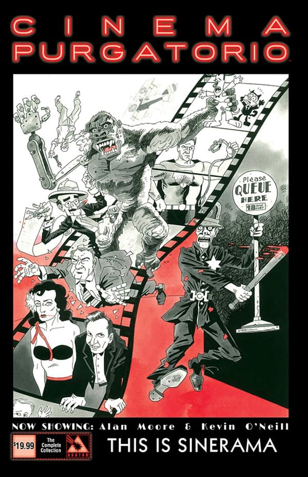 Alan Moore and Kevin O'Neill's Cinema Purgatorio, In Comic Stores For April