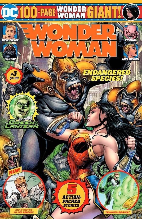 Wonder Woman 100-Page Giant #3 Gets Credits – Amanda Conner, Jimmy Palmiotti, Scott Kolins, Daniel Sampere and Juan Albarran
