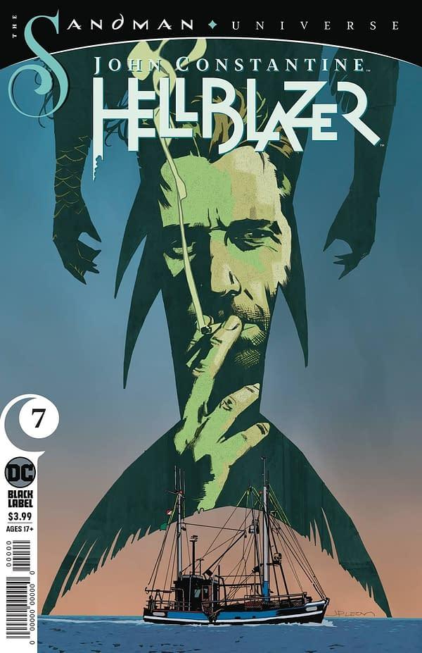 John Constantine Hellblazer #7 Cover