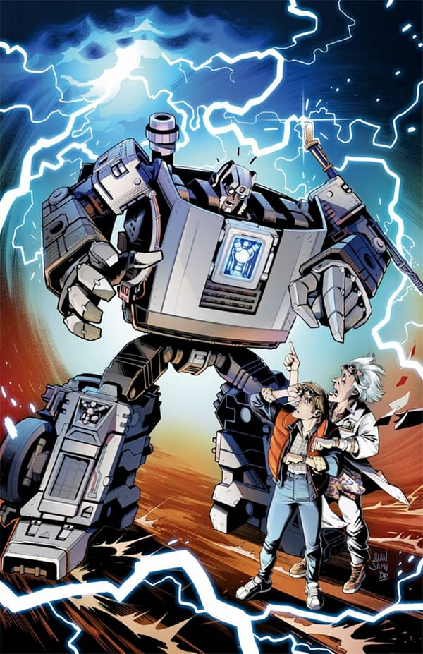 IDW Publishes Transformers/Back To The Future in October.