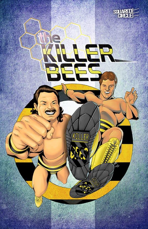 Wrestling With Killer Bees On Kickstarter