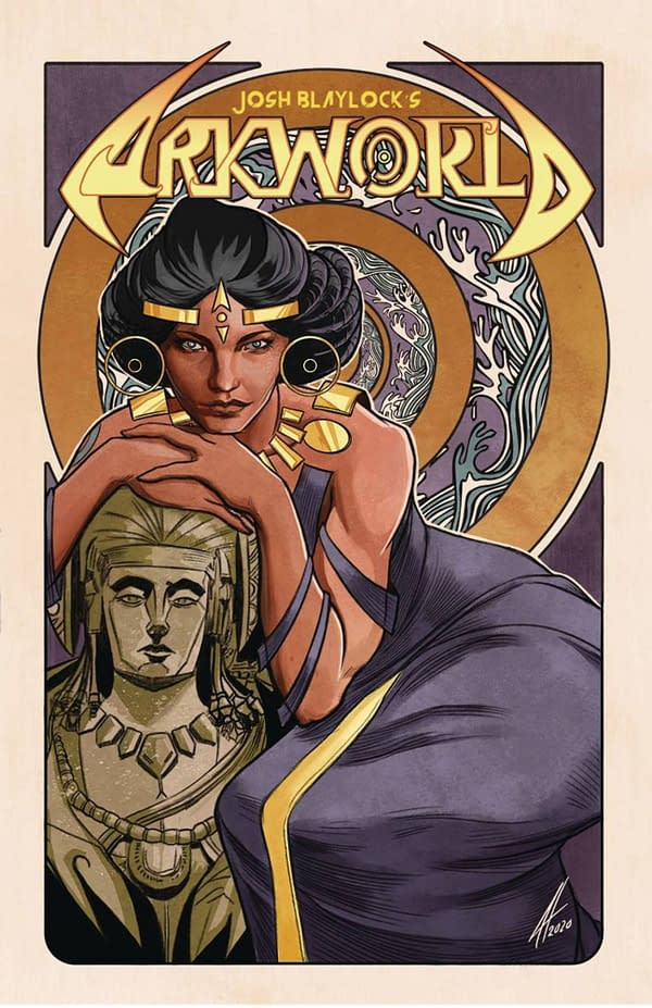 ArkWorld #2 cover. Credit: Devil's Due Comics