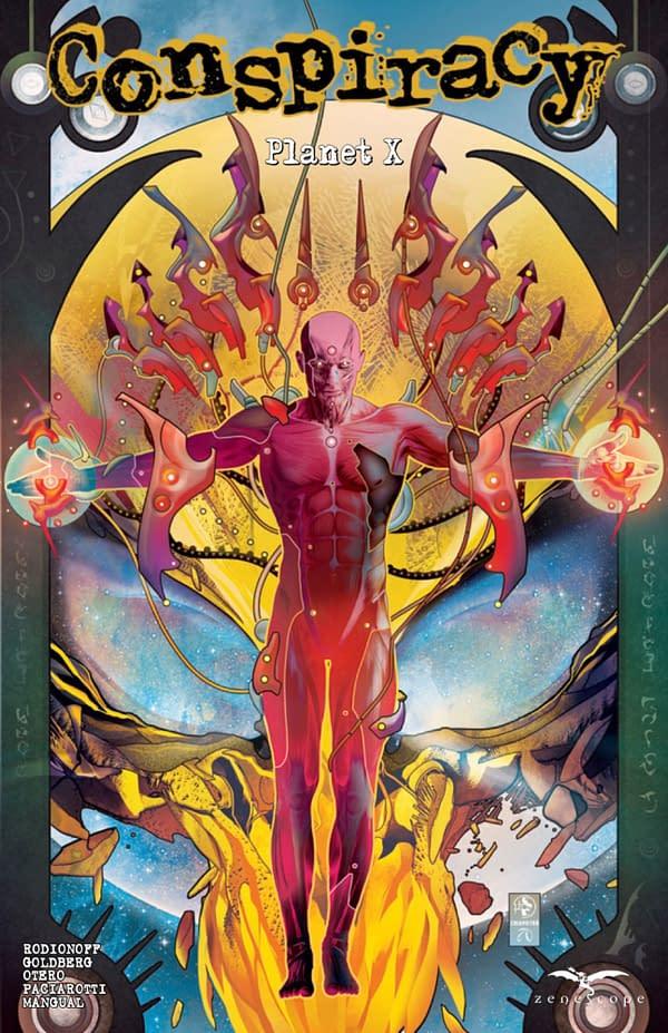 Conspiracy: Planet X cover. Credit: Zenescope Entertainment