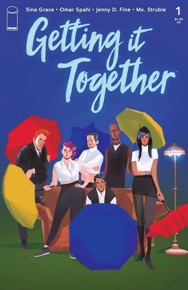 Getting it Together #1 cover. Credit: Image Comics