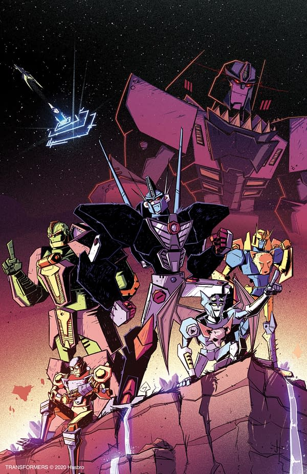 Transformers: Beast Wars #1 cover. Credit: IDW Publishing