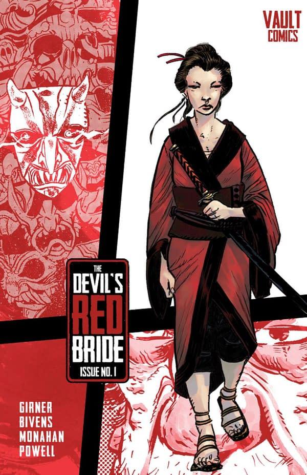 The Devil's Red Bride #1 cover. Credit: Vault Comics