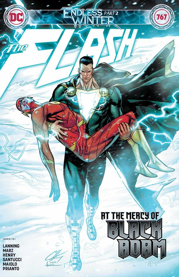 Flash #767 Review: Nothing Happened In This Issue