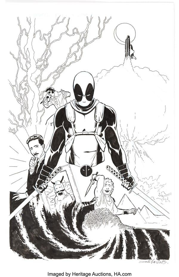 Original X-Men Art Auction, Chris Bachalo, Joe Madueira, Simone Bianchi