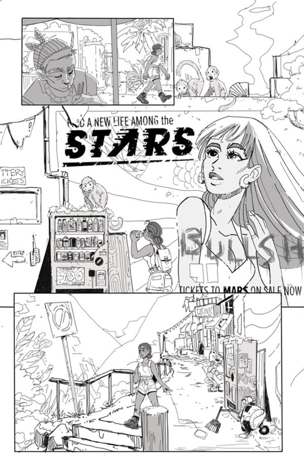 Samantha Benc Sells Last Ship To Mars Graphic Novel Rights At Auction