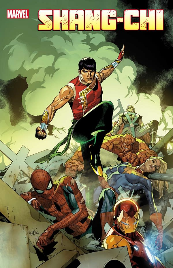 Marvel Announces New Shang-Chi Ongoing Comic Series Coming In May.