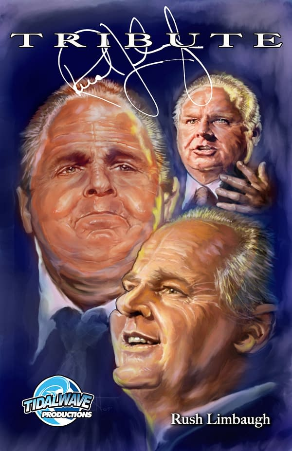 Rush Limbaugh Biographical Comic Rushed Out Tomorrow