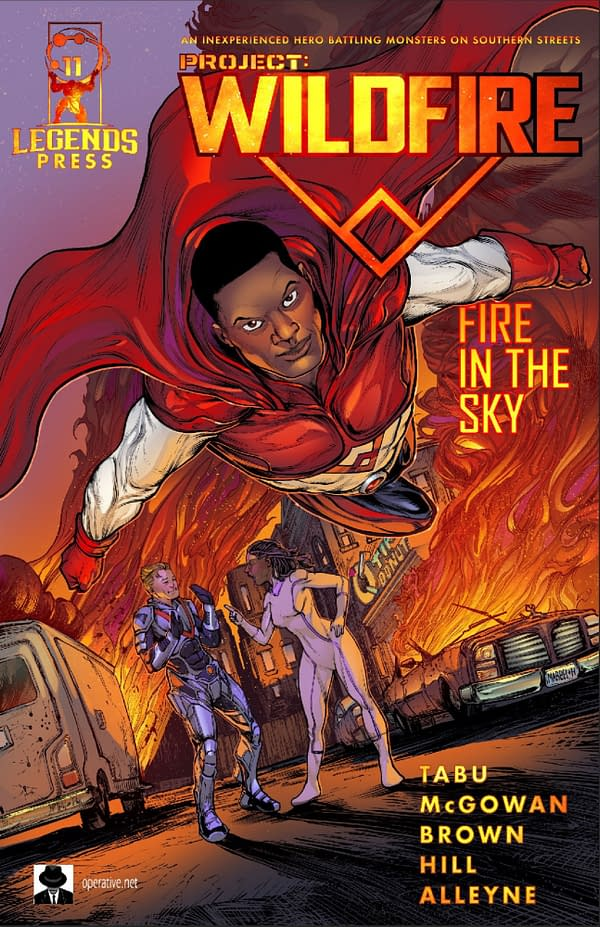 Hannibal Tabu and Quinn McGowan's Project: Wildfire From Second Sight