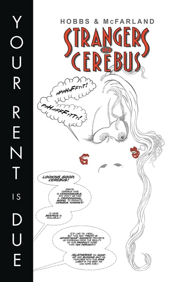 Dave Sim Does Terry Moore With Strangers In Cerebus