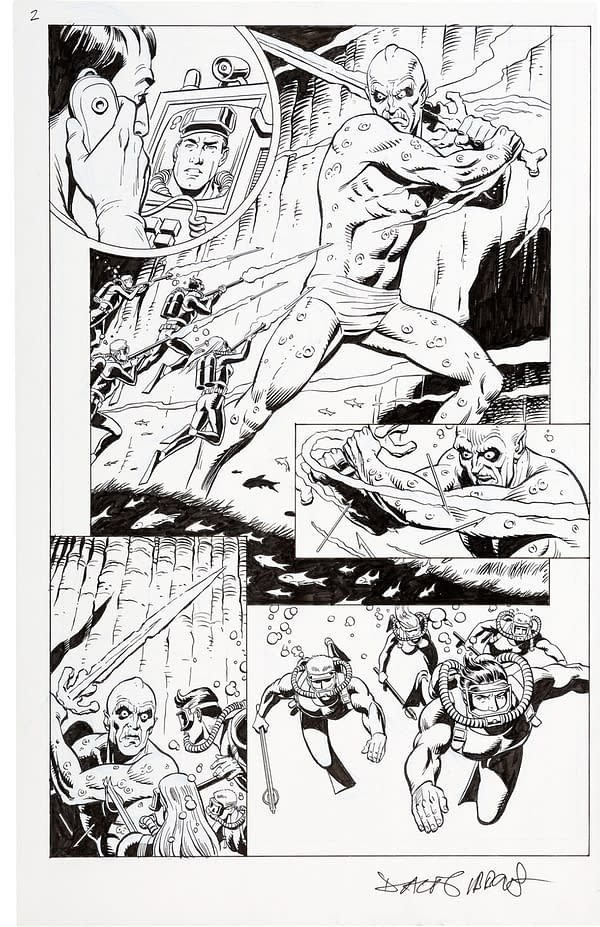 Dave Gibbons' Full Challengers Of The Unknown Original Art At Auction
