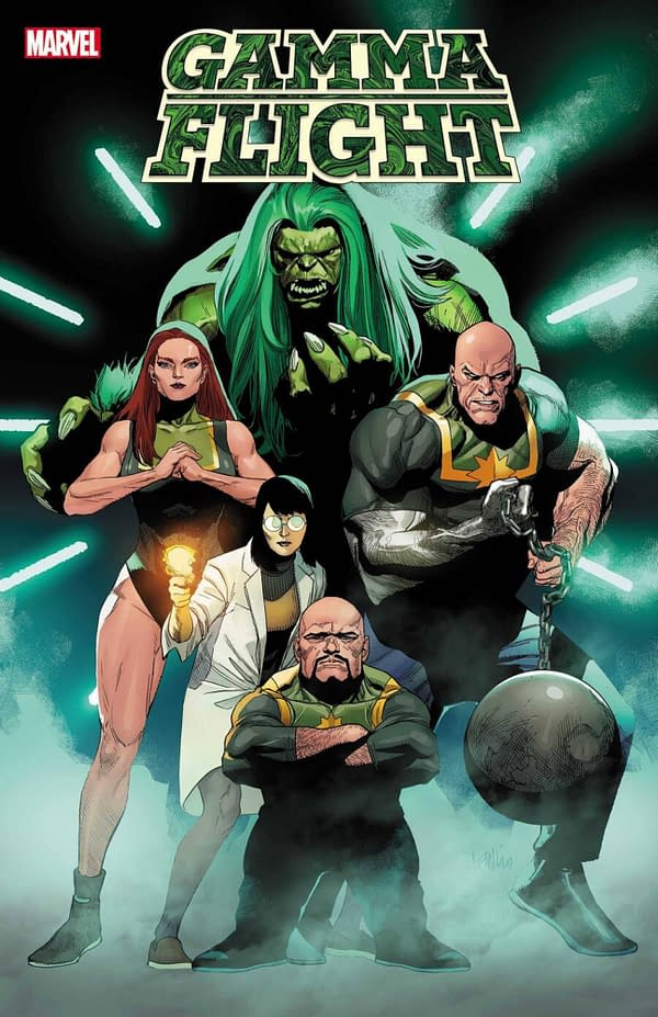 Al Ewing, Crystal Frasier, Lan Medina Launch Gamma Flight From Marvel