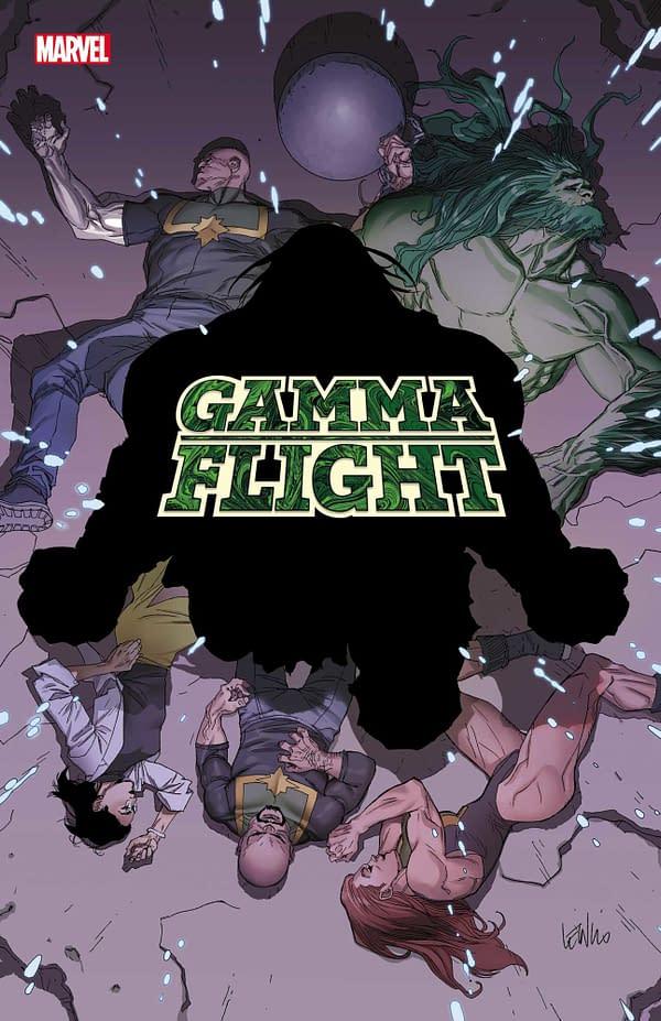 Cover Silhouette Mystery in Marvel Comics' Gamma Flight #2