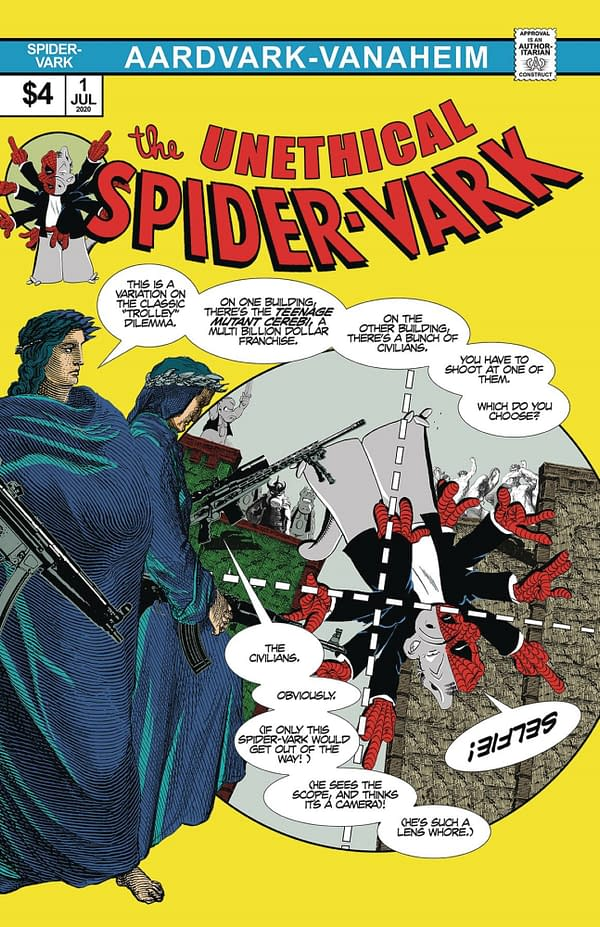 Dave Sim Suggests Owning Unethical Spider-Vark Could Be A Hate Crime