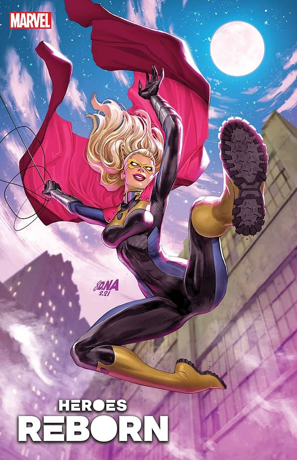 Cover image for HEROES REBORN NIGHT-GWEN #1