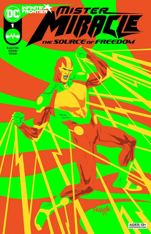 Mister Miracle #1: The Source of Freedom Review: Ambitious