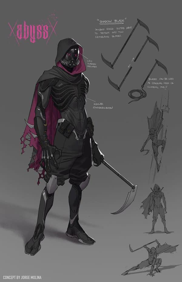 Abyss, A New Villain For Josh Williamson & Jorge Molina's Batman #118