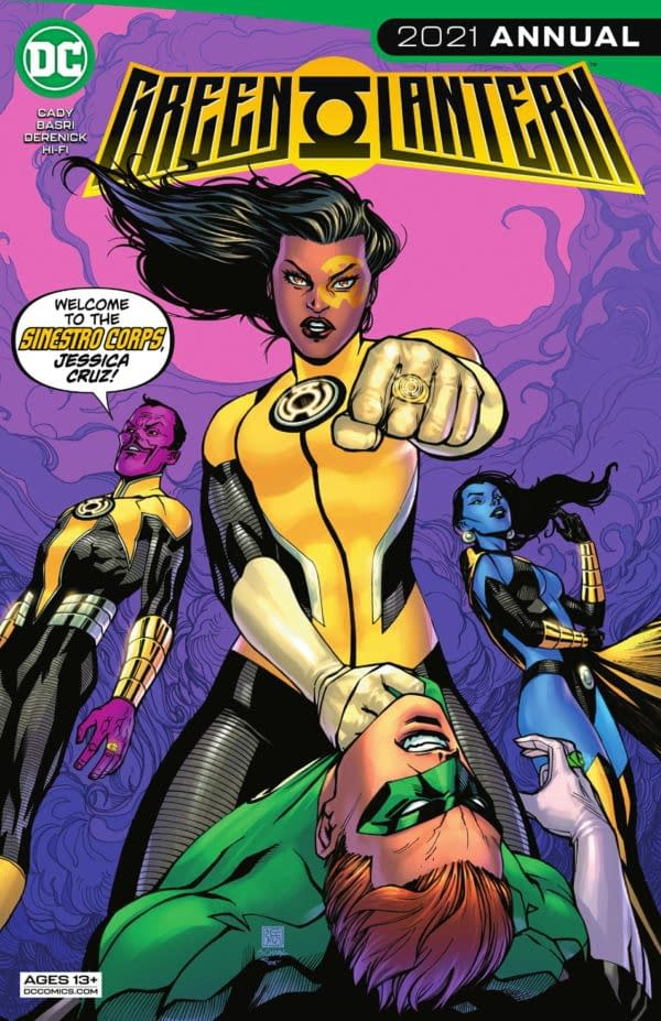 Green Lantern 2021 Annual #1 Review: Interesting