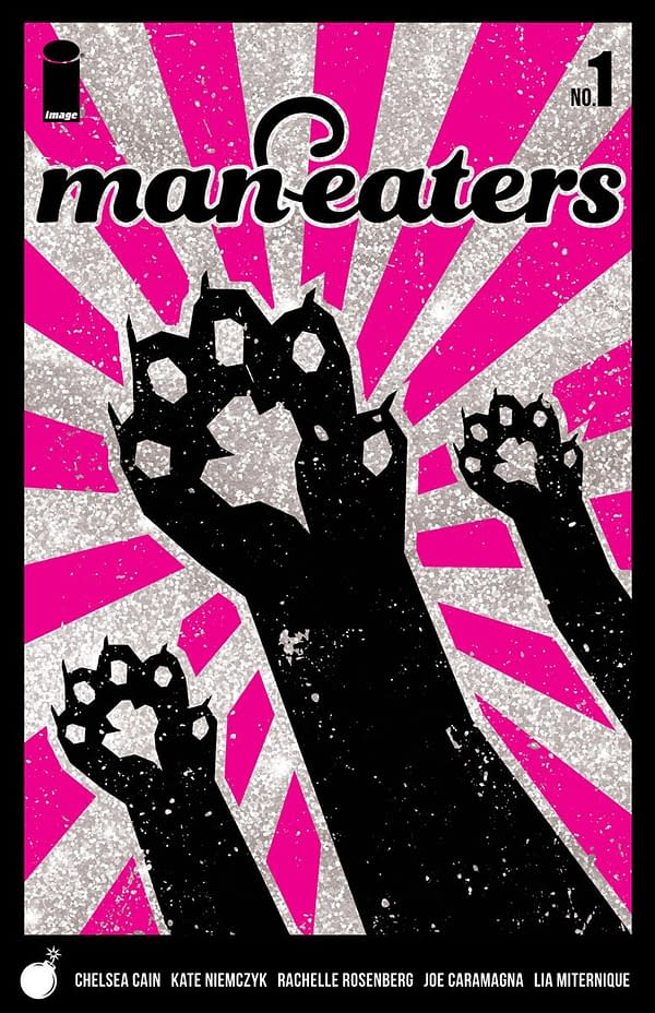 """Chelsea Cain Returns to Comics to """"Make Trouble"""" with New Image Series 'Man-Eaters'"""