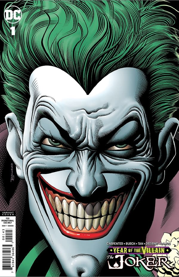 "Brian Bolland Returns to Joker for Retailer Gift Edition of ""Joker: Year of The Villain"""