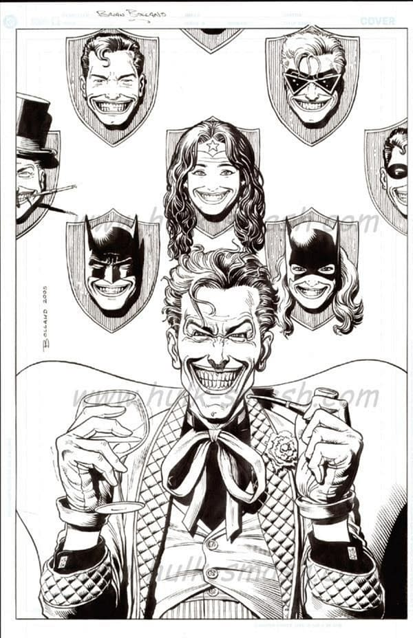 The Perfect Joker Commission by Brian Bolland.