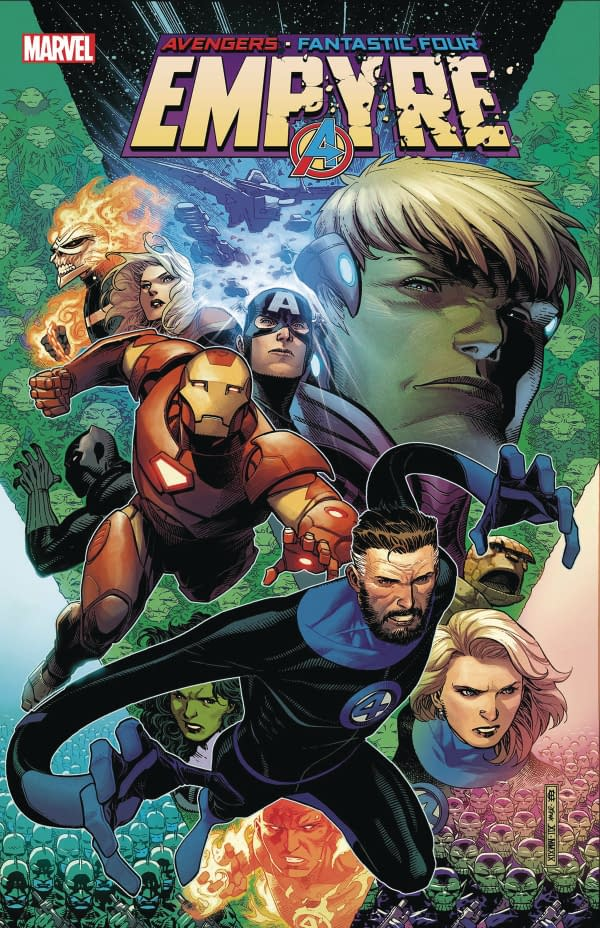 Empyre Goes Weekly But No New Warriors in Marvel July 2020 Schedule.