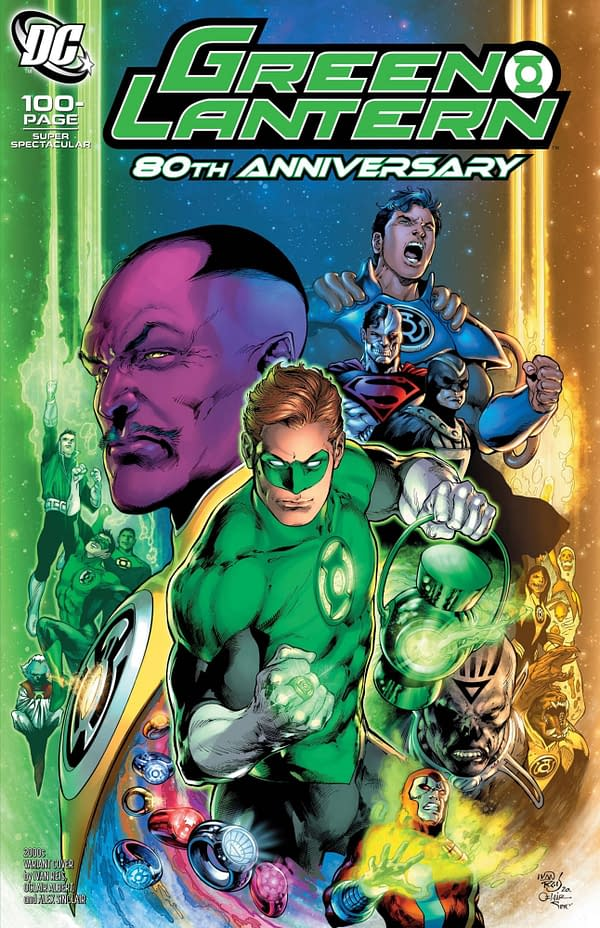 Green Lantern 80th Anniversary Special #1 2000's Variant Cover