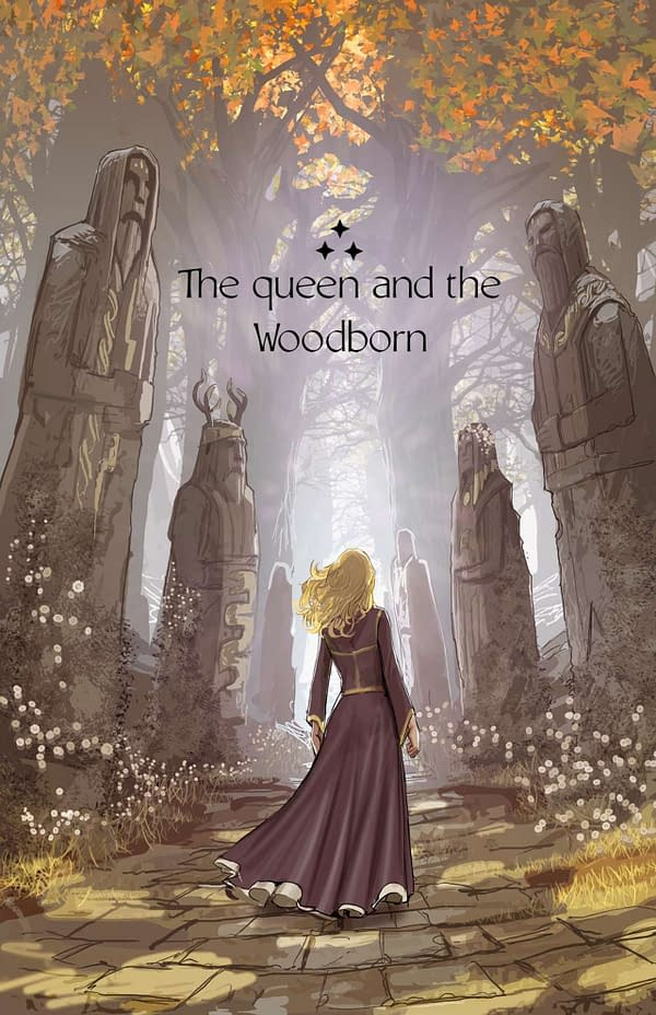 The Queen and the Woodborn cover. Credit: Stjepan Šejić's Facebook.