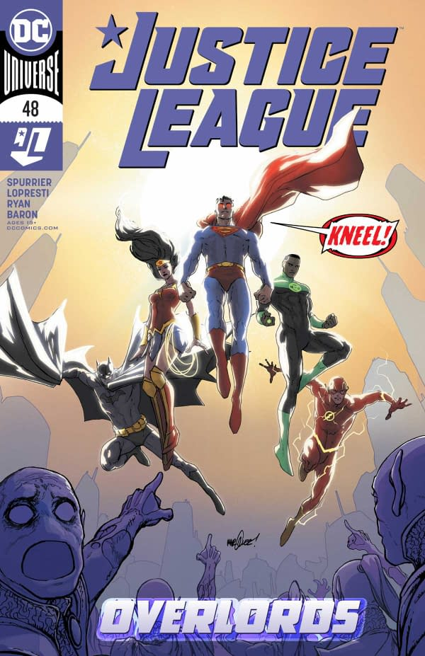 Justice League #48 Review: Big, Relevant Ideas Here